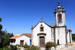 Catholic church. Roman catholic church in Obidos, Portugal stock image