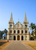 Catholic church. At Kochin, state Kerala, India royalty free stock photo