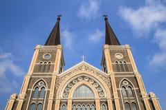 Catholic church. In chanthaburi , thailand stock photo