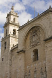 Catholic Church. An ancient church located in Merida, Mexico in the Yucatan Royalty Free Stock Image