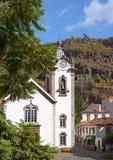 Catholic church. Funchal, Madeira, Portugal Royalty Free Stock Photos