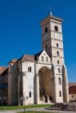 Catholic church in Alba Iulia stock photography
