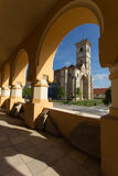 Catholic church in Alba Iulia, Romania Royalty Free Stock Photo