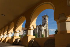 Catholic church in Alba Iulia, Romania Royalty Free Stock Photos