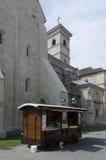 The catholic church in Alba Iulia, Romania Royalty Free Stock Photography