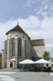 The catholic church in Alba Iulia, Romania Stock Photo
