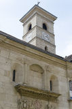 The catholic church in Alba Iulia, Romania Royalty Free Stock Image