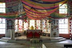 Catholic Church in Bamanpukur, West Bengal Stock Image
