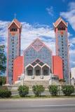 Catholic church in Bar. New catholic church in Bar city in Montenegro Stock Photography