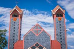 Catholic church in Bar. New catholic church in Bar city in Montenegro Royalty Free Stock Photography