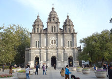 Catholic church Beijing  Royalty Free Stock Photography