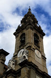 Catholic church bell tower in Palermo,Italy Royalty Free Stock Photo