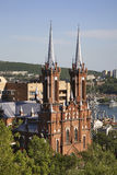 Catholic Church of the Blessed Virgin in Vladivostok. Russia Royalty Free Stock Photography