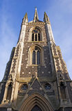 Catholic church. Church built in gothic architectural style, United Kingdom Royalty Free Stock Photography