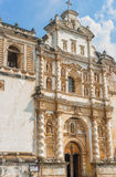 Catholic church called Iglesia de San Francisco in Antigua, Guat. Architecture details of the Catholic church called Iglesia de San Francisco in Antigua Royalty Free Stock Photo