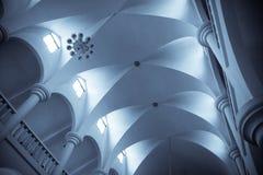 Catholic church ceiling Stock Image