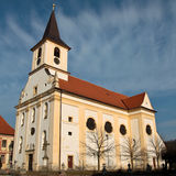 Catholic church in Central Europe Stock Photo