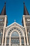 Catholic church at Chantaburi province Stock Photos