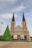 Catholic church in chanthaburi thailand. Roman Catholic Diocese or Cathedral of the Immaculate Conception Chanthaburi Royalty Free Stock Photo
