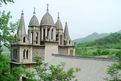 Catholic Church in China Royalty Free Stock Images