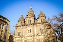 Catholic church. The Chinese Catholic church in Beijing Stock Photos