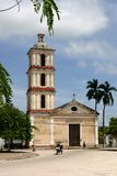 Catholic church  in Cuba Royalty Free Stock Image