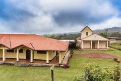 Catholic church de Vara Blanca in Costa Rica Royalty Free Stock Photos