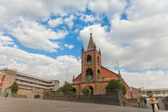 Catholic church in Ethiopia Royalty Free Stock Image
