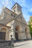 Catholic Church. European Catholic Church with beautiful old architecture Royalty Free Stock Photography