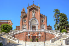Catholic church exterior view. Stock Images