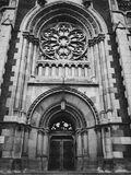 Catholic church. Facade of catholic church Stock Image