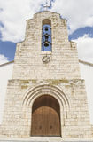 Catholic church facade Royalty Free Stock Photography