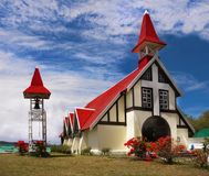Church Cap Malheureux, Mauritius Island, royalty free stock images