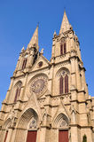 Catholic church in gothic style Stock Images