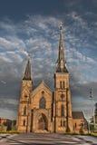 Catholic Church in Grand Rapids Royalty Free Stock Image