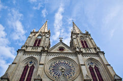 Catholic church in Guangzhou, China Royalty Free Stock Photography