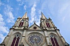 Catholic church in Guangzhou, China Royalty Free Stock Photography