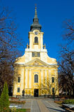 Catholic church in Gyula Royalty Free Stock Photo