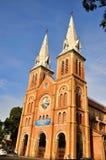 Catholic church in Ho Chi Minh, VietNam Royalty Free Stock Image