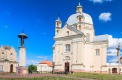 Catholic church of the Holy Trinity. Liskiava. Lithuania Royalty Free Stock Photo