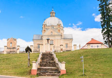 Catholic church of the Holy Trinity. Liskiava. Lithuania Royalty Free Stock Photography