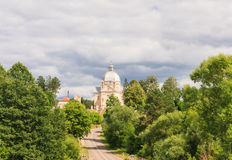 Catholic church of the Holy Trinity. Liskiava. Lithuania Royalty Free Stock Image