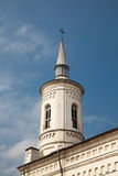 The Catholic Church in Iasi. The bell tower of The Catholic Church in Iasi city, Romania Stock Photography
