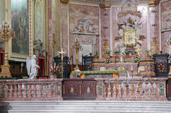 Catholic Church In Rome Royalty Free Stock Photography