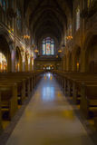 Catholic Church Interior Royalty Free Stock Images