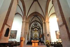 Germanic catholic church interior Stock Images