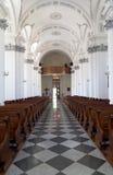 Catholic Church. Interior of the Roman Catholic Church Stock Images