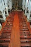Catholic church interior. Toledo, Spain Stock Photos