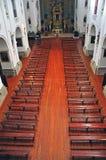 Catholic church interior Royalty Free Stock Photo