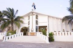 Catholic church on Isla Mujeres Stock Images